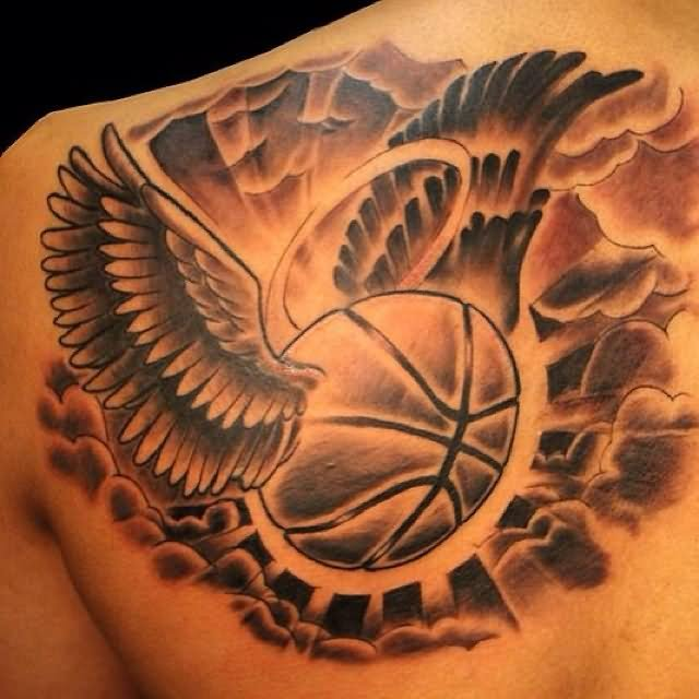 Basketball Tattoo Images &amp Designs