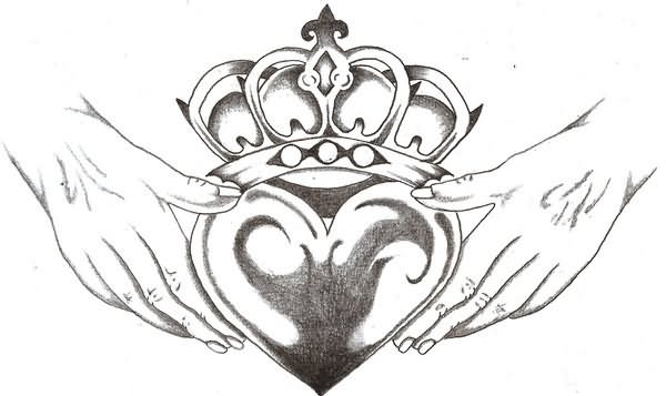 Claddagh Tattoo Images Amp Designs