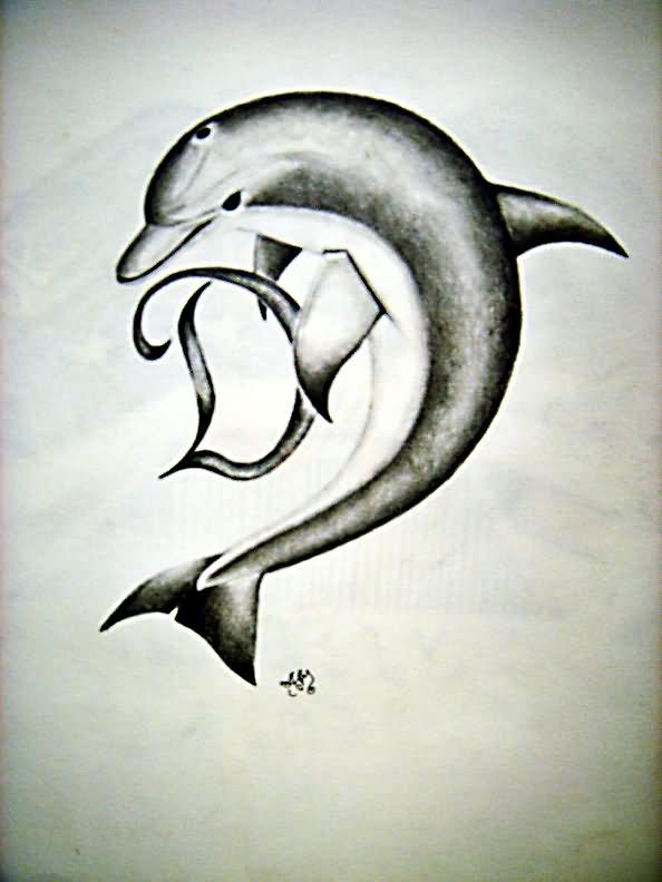dolphin tattoo images designs. Black Bedroom Furniture Sets. Home Design Ideas