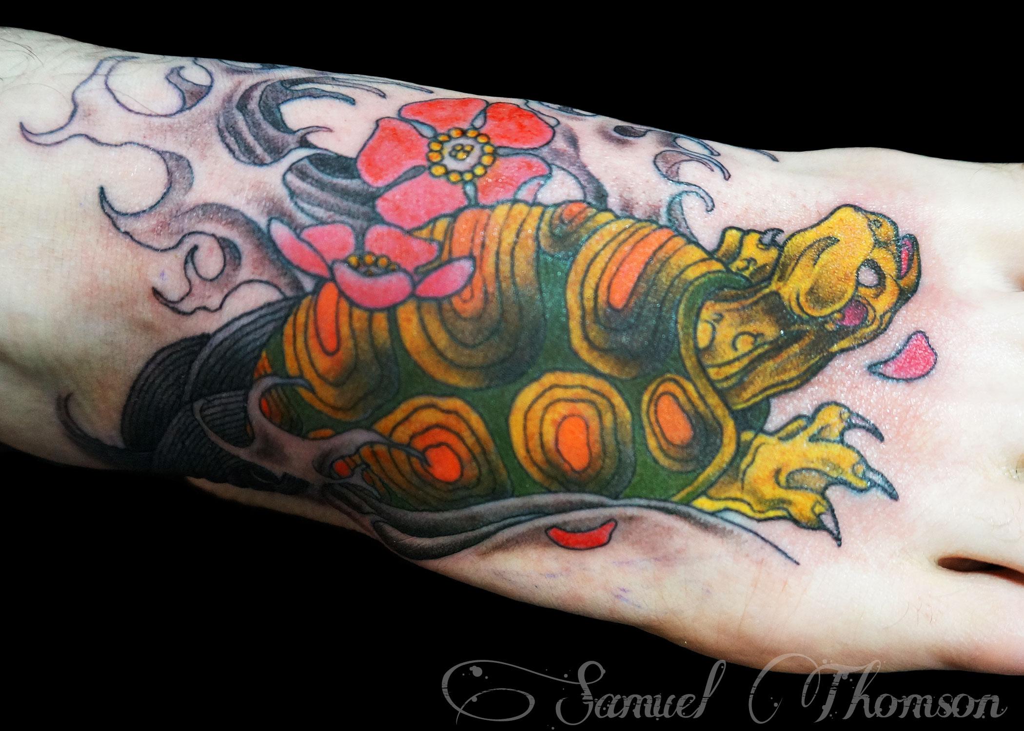 Japanese turtle tattoo designs