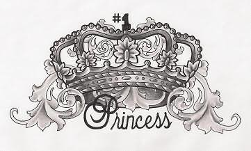princess crown tattoo design rh tattoostime com princess crown tattoo designs princess crown tattoo simple