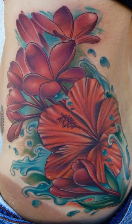 9 most beloved plumeria tattoo designs styles at life