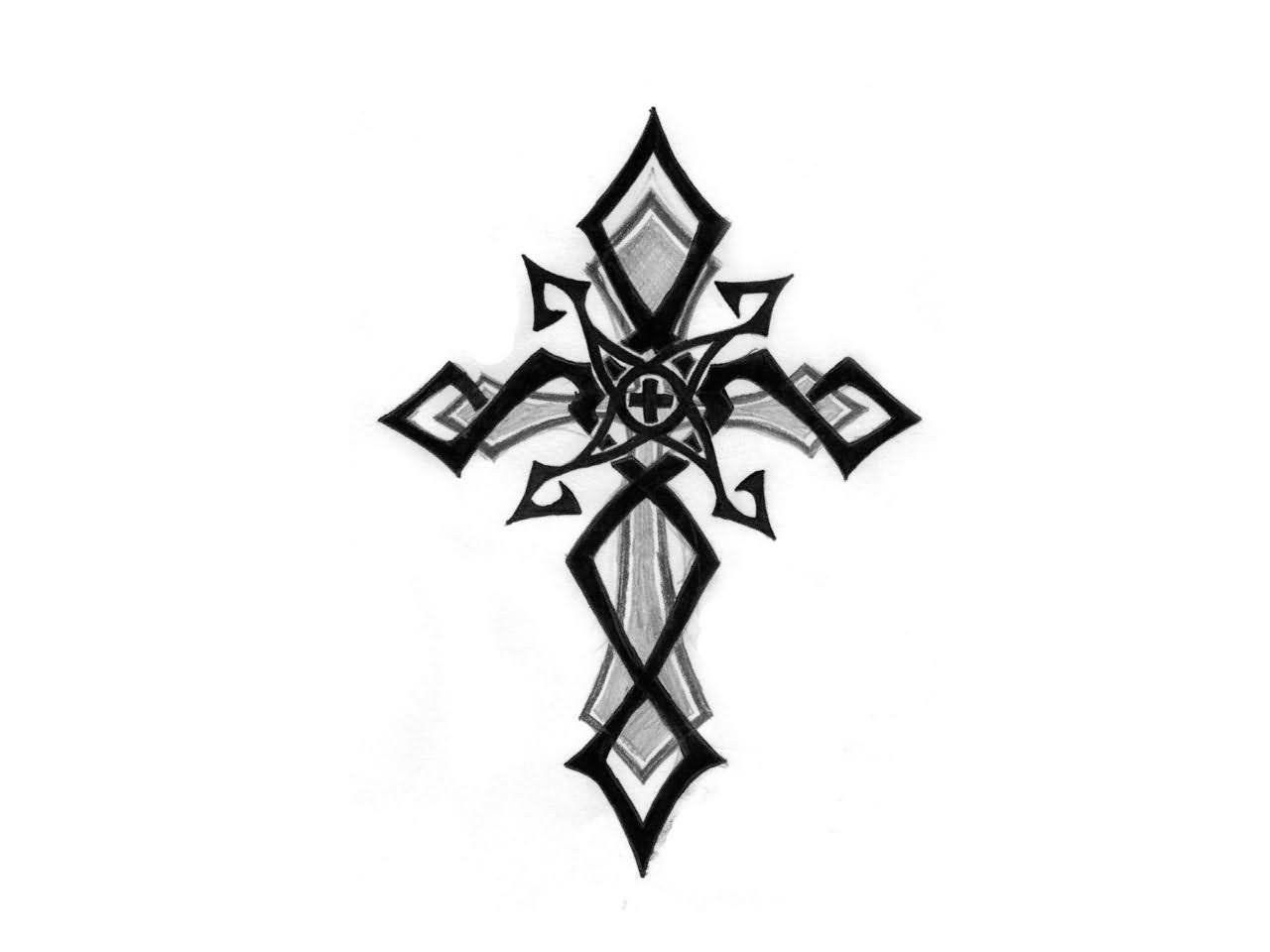 Cross Tattoo Images & Designs