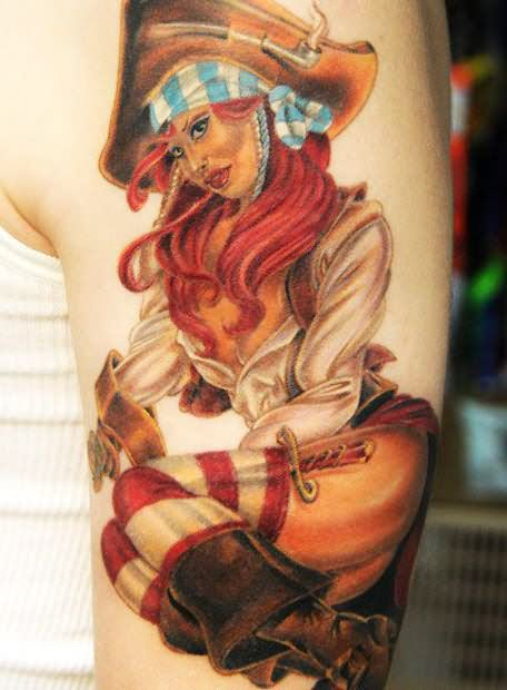 Girl Tattoo Images Amp Designs