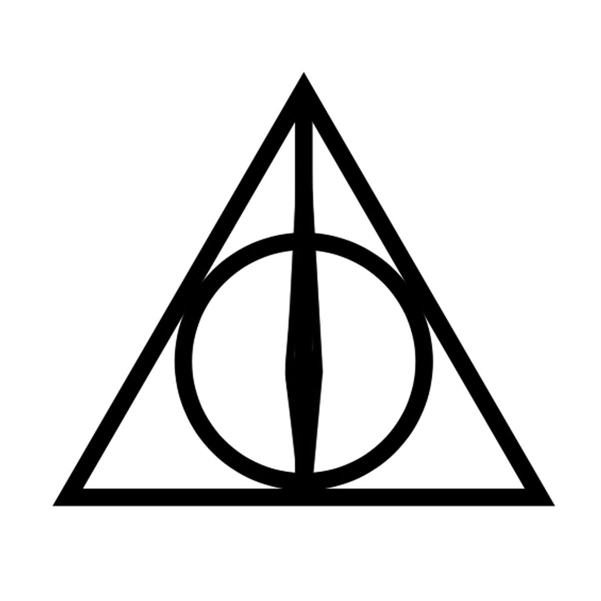 Nice Triangle Tattoo Design