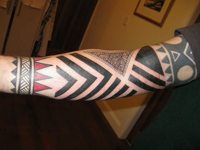 Triangle Tattoo Images & Designs