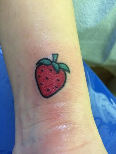 Strawberry Tattoo Images &amp Designs