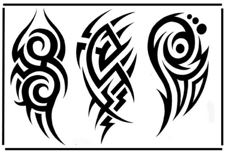 black tribal tattoo designs for half sleeve. Black Bedroom Furniture Sets. Home Design Ideas