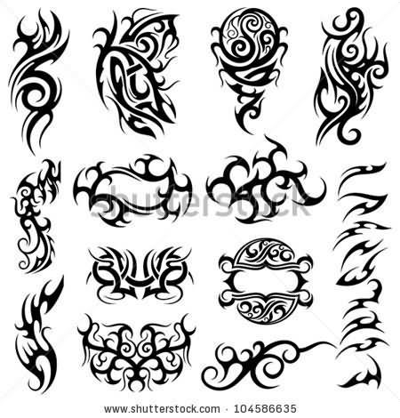 Bike Flash Tattoos Designs