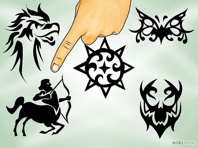 Sagittarius Symbol Tattoo