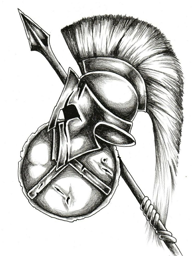 Gallery For gt Spartan Warrior Tattoo Designs
