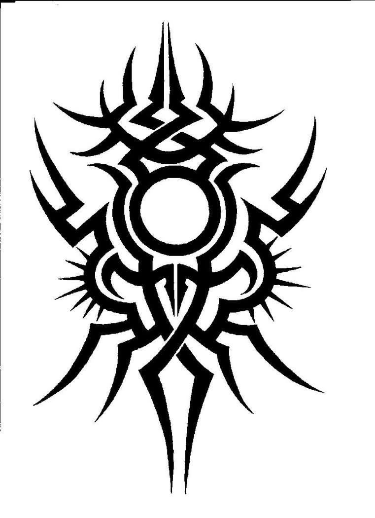Tribal-Tattoos Stylish-Black-Tribal-Tattoo-Design