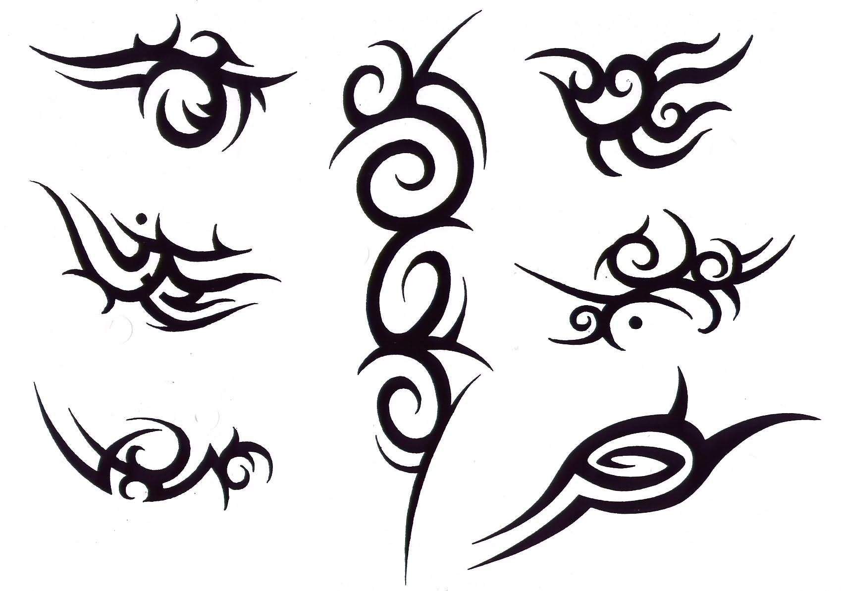 Tribal-Tattoos Superb-Black-Tribal-Tattoos-Designs