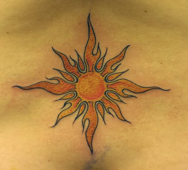 Tattoo Designs Sun: Sun Tattoo Images & Designs