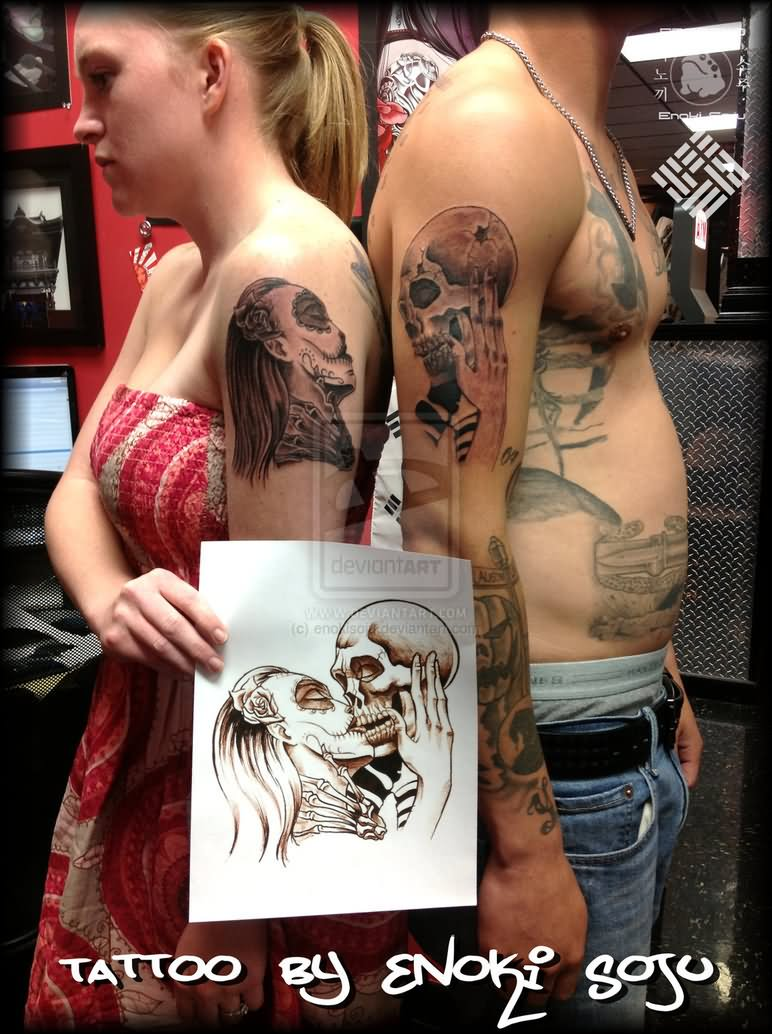 His And Hers Tattoos