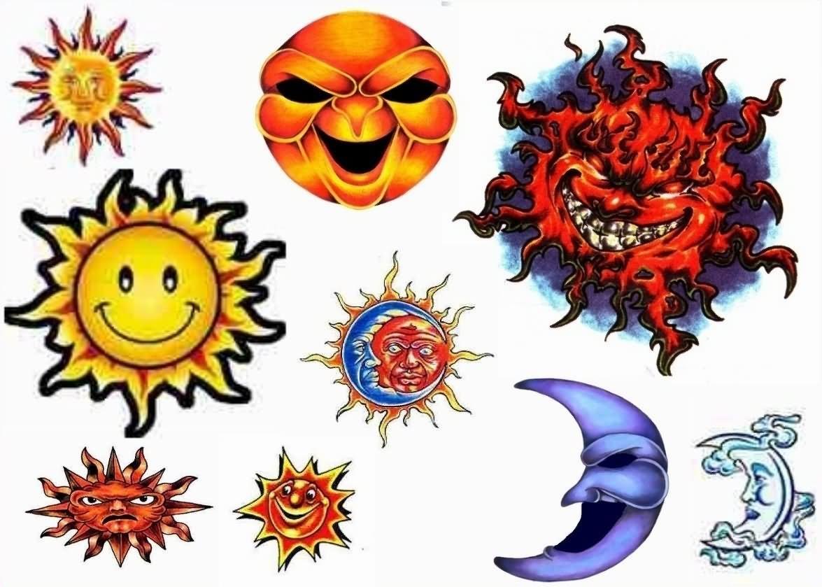 Sun Design Images Sun Tattoo Imag...