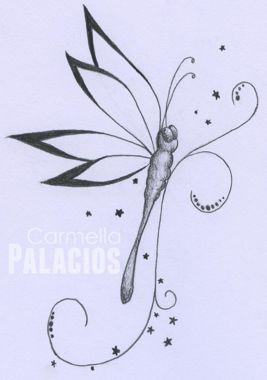 Outline lotus flower dragonfly tattoo design outline dragonfly tattoo design izmirmasajfo