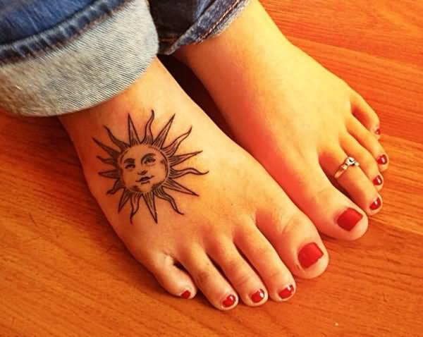 how to get a sun tattoo