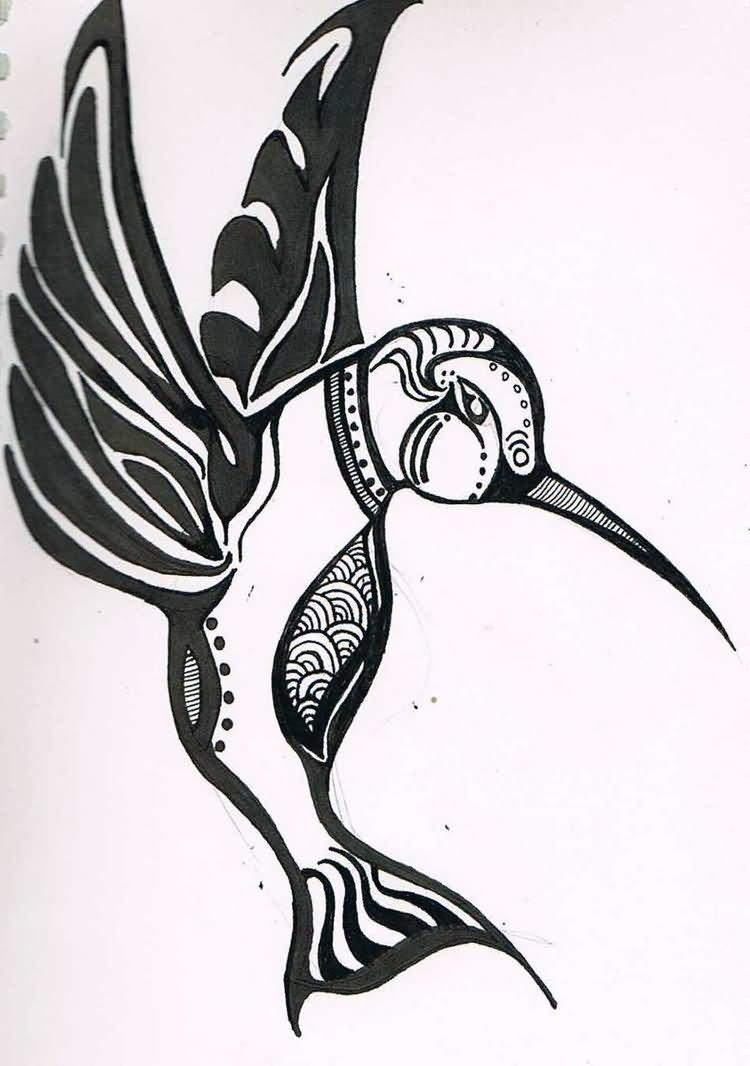 White hummingbird meaning