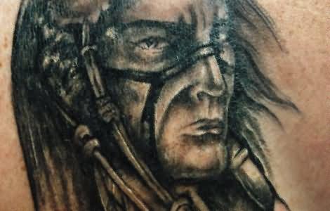 Blackfoot Indian Tattoo Design