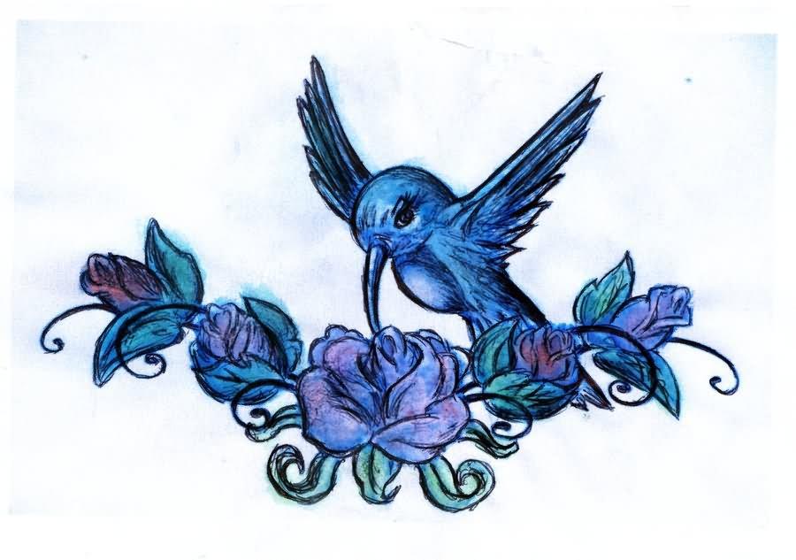 hummingbird tattoo images  u0026 designs