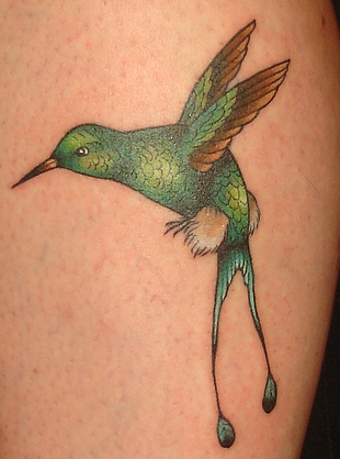 Hummingbird Tattoo Images & Designs