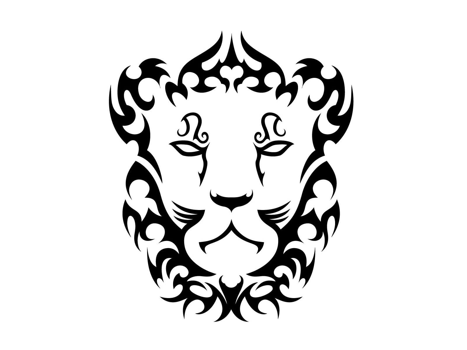 leo tribal tattoos crown gallery. Black Bedroom Furniture Sets. Home Design Ideas
