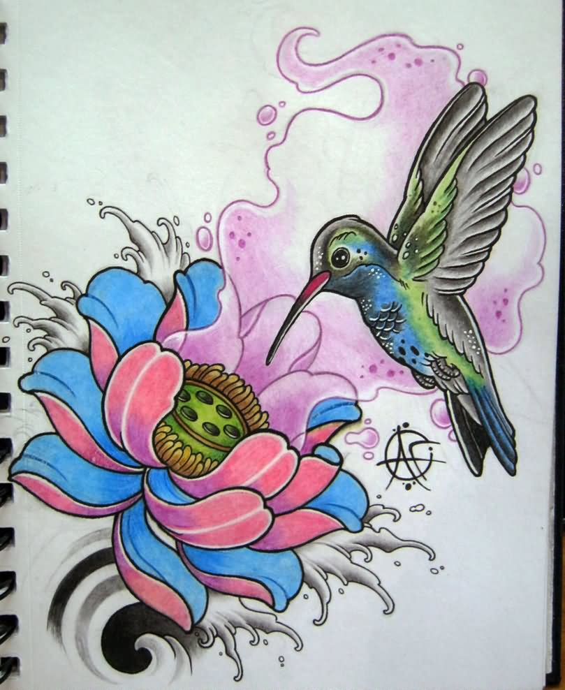 hummingbird tattoo images designs. Black Bedroom Furniture Sets. Home Design Ideas