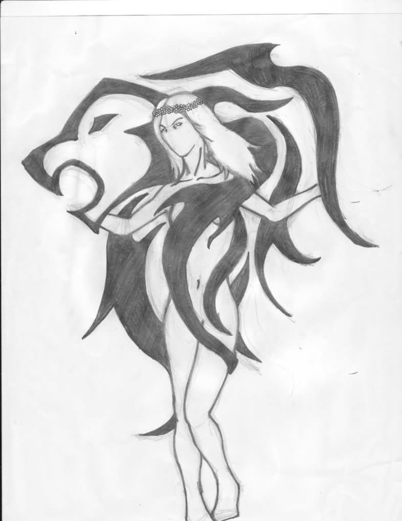 Leo tattoo images designs for Virgo tribal tattoo