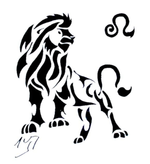 Leo Tattoo Images & Designs