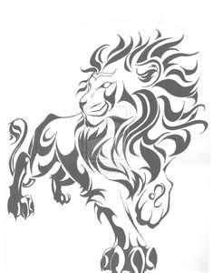 Zodiac Symbol Leo Tattoo Design