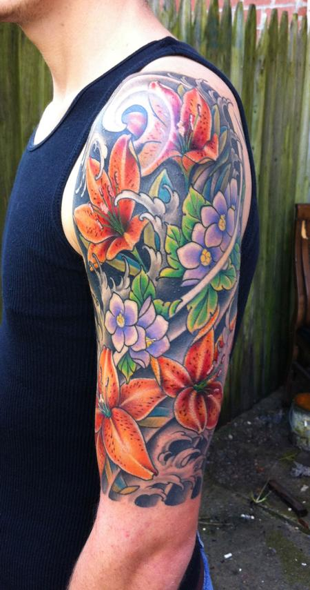 Lily Tattoo Images &am...