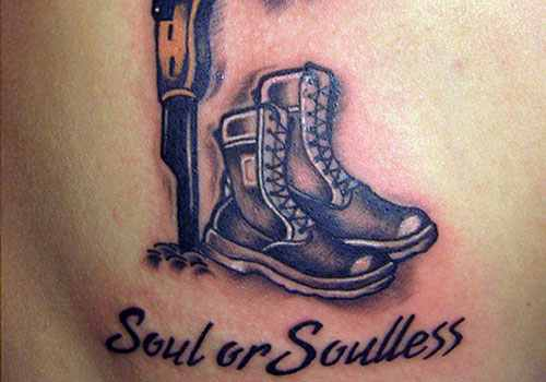 Soul Or Soulless  Military Tattoo
