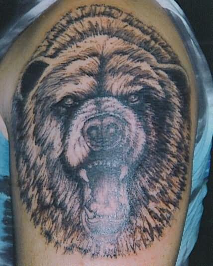 Bear Tattoo By Tattoostime