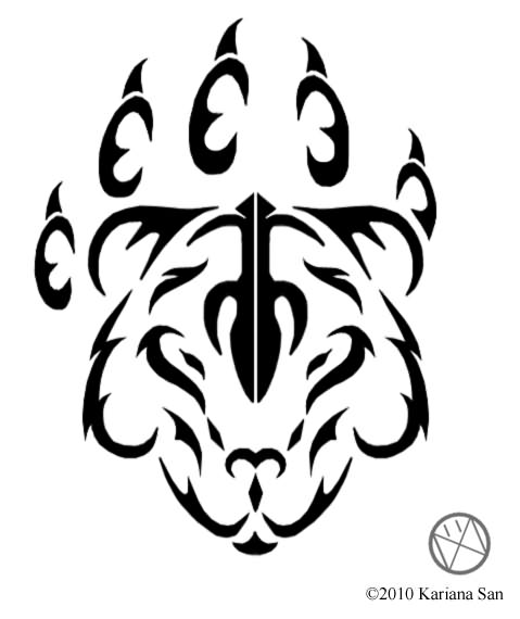 tribal paw bear tattoos Tattoos  Colection Tatto Design Facial  Picture Best Tribal
