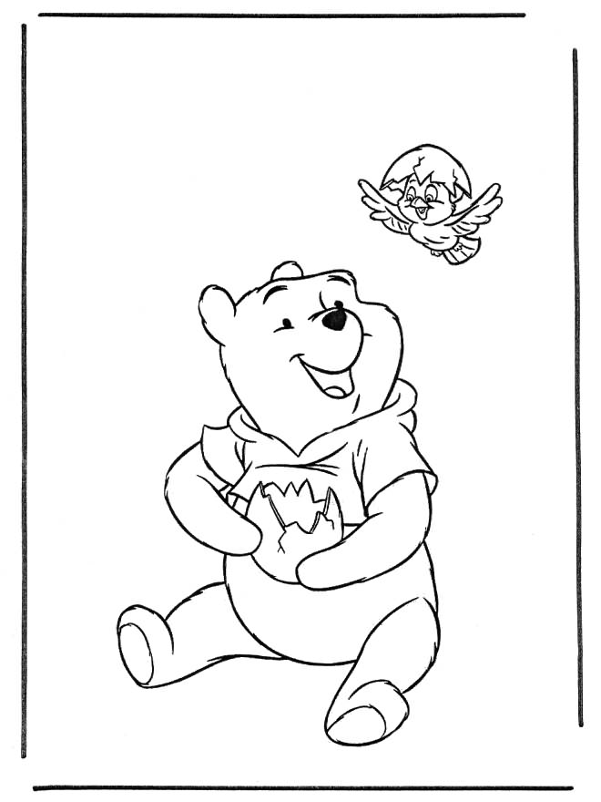 Winnie The Pooh Tattoo Design