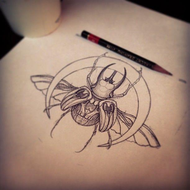 Bug Tattoo Design Flash
