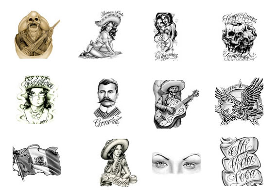 Latino Tattoo Designs Ideas