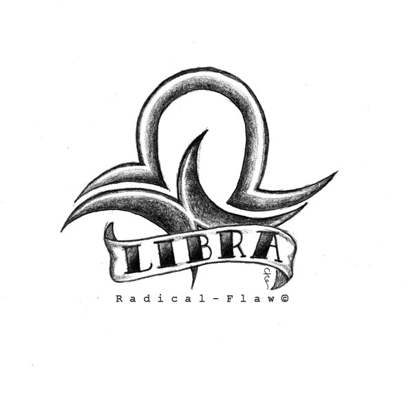 Libra Tattoo Design By Radical Flaw