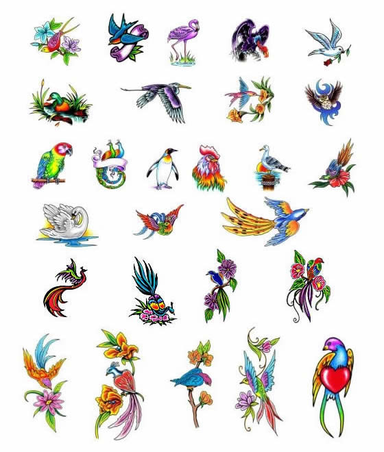 Little Birds Tattoo Design Ideas By Tattoo Art