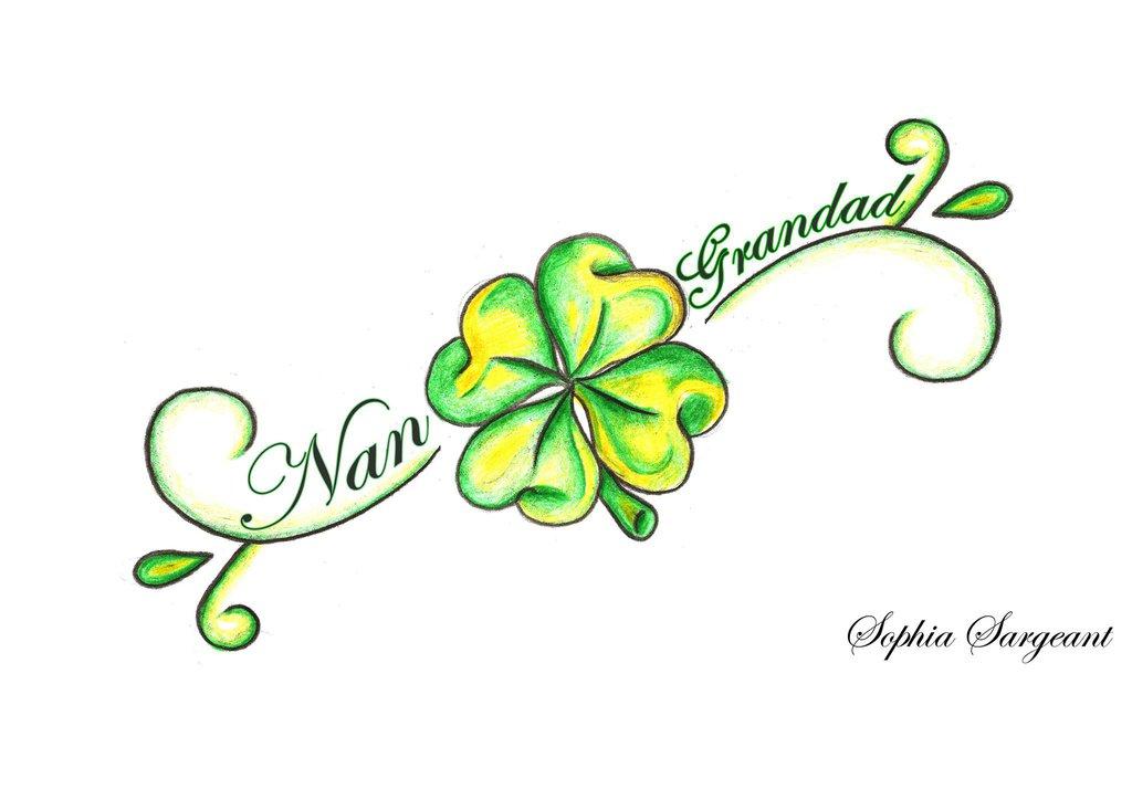Clover Tattoo Images Amp Designs