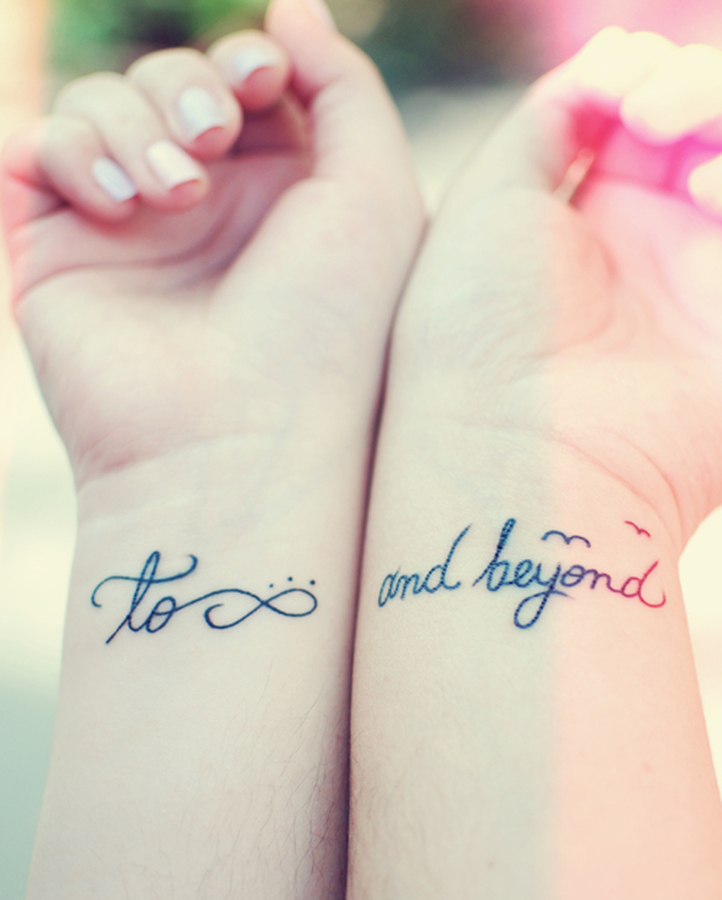 135 great best friend tattoos friendship inked in skin for Cute best friend tattoos