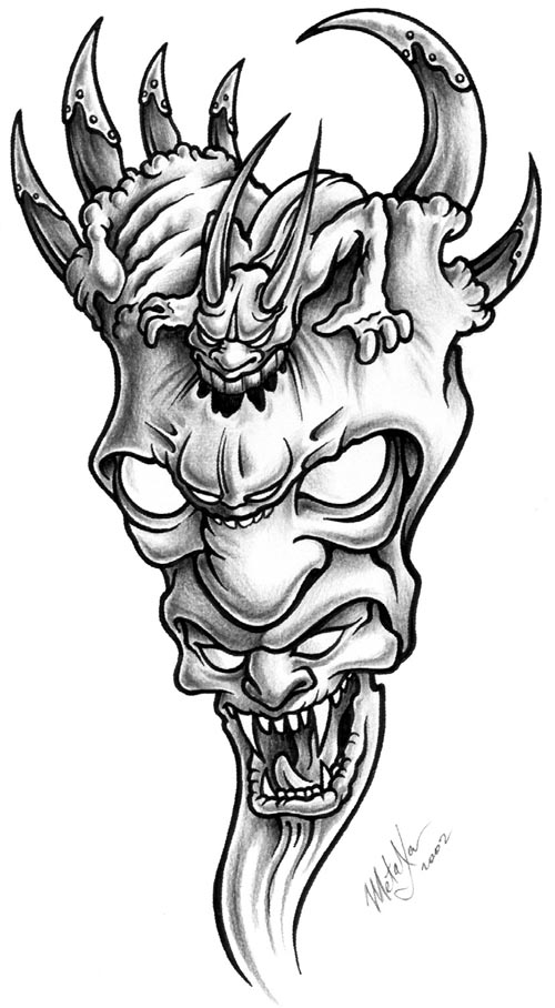 demon tattoo design idea - Tattoo Idea Designs