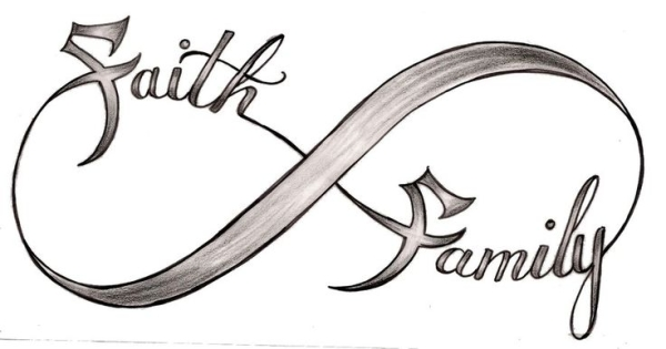 Faith Family Infinity Symbol Tattoo Design By Metacharis