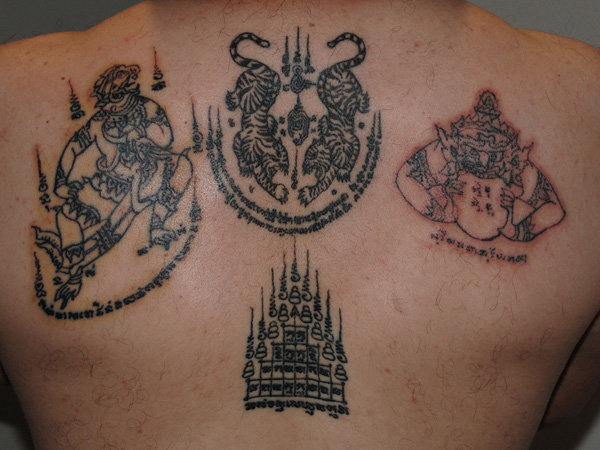 Hinduism Tattoos On Back Body
