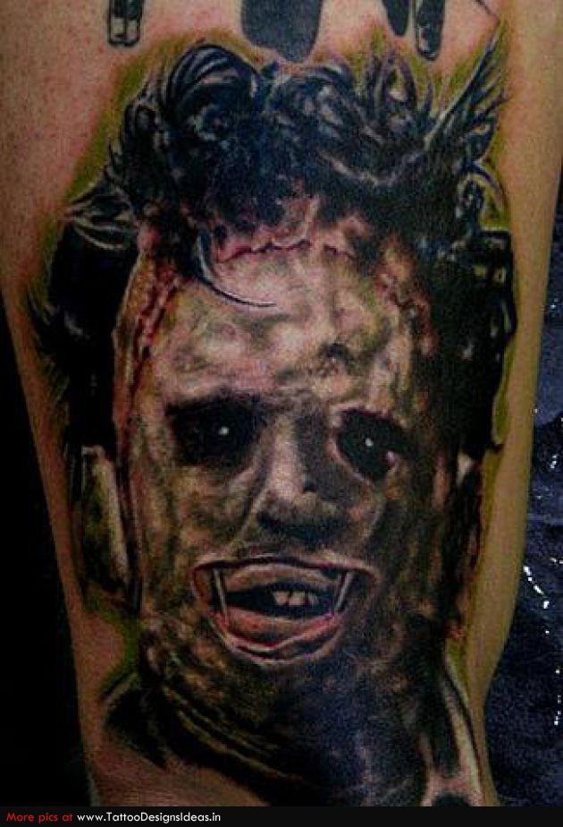 Horror Tattoo Design Idea