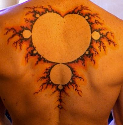 Mandelbrot tattoo