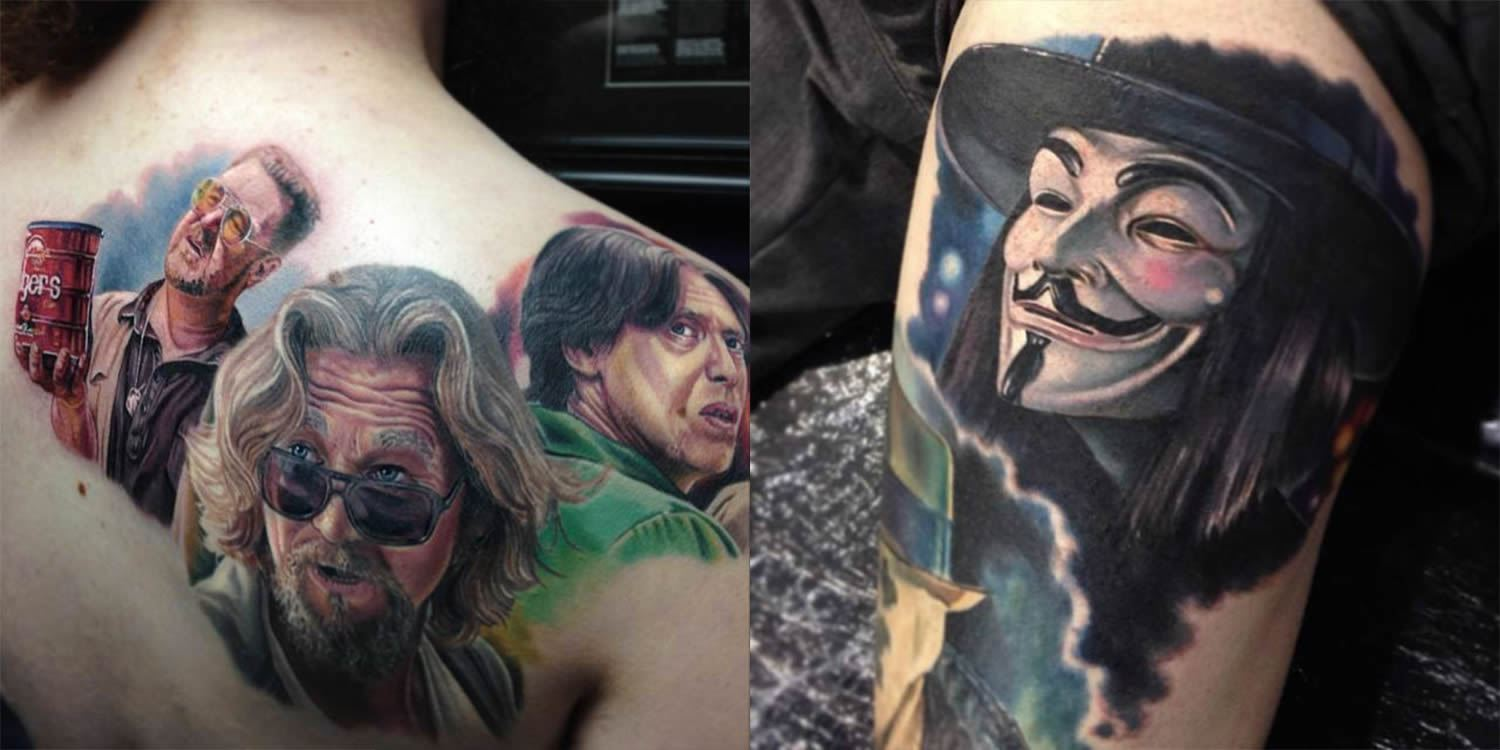 Movie Tattoo Design by Paul Acker
