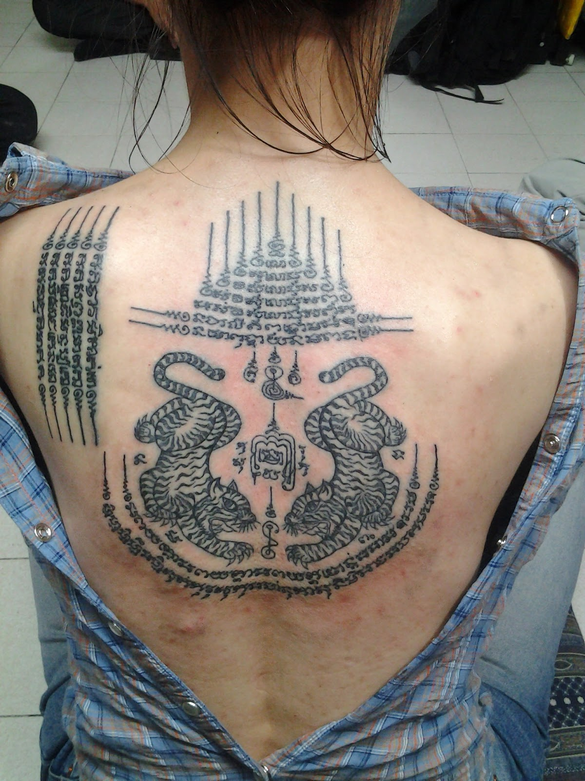 Thai Tattoo Design For Girls
