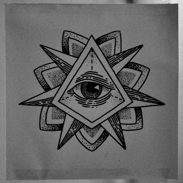 Eye With Triangle Tattoo: Illuminati Tattoos Tattoo Images & Designs